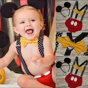 Mickey boy 1 year outfit